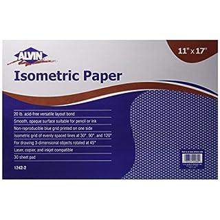 Alvin Isometric Paper Pad (1242-2)