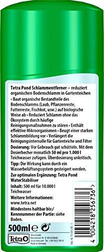 Tetra Pond Sludge Remover (Reduces Sludge in Garden Ponds, Acts Purely Biologically) 500ml Bottle 2