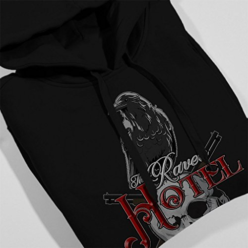 The Raven Hotel Altered Carbon Women's Hooded Sweatshirt Black