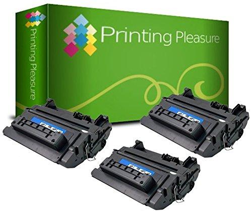 Printing Pleasure 3 Toner kompatibel für HP Laserjet Enterprise 600 M601 M602 M603 M4555 Serie   CE390X 90X