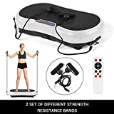 Power Vibration Plate Exercise Massager Fitness Slimming Full Body Shaper Weight Loss Machine