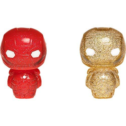 Marvel Iron Man Red & Gold Hikari XS Vinyl Figur Set