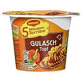 Maggi fünf MinutenTerrine Gulaschtopf ungarischer Art 1 Portion, 61 g