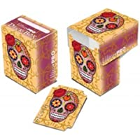 "Ultra-Pro ""Day of the Dead"" (Dia De Los Muertos) Pink Skull Deck Box by Ultra-Pro"