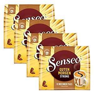 Senseo Good Morning Coffee Pads Strong XL, Strong & Intensive, 40Coffee Pads
