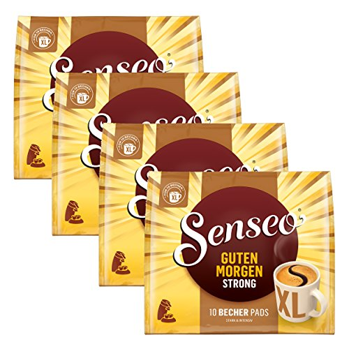 Senseo Kaffeepads Guten Morgen Strong XL, Stark & Intensiv, 40 Kaffee Pads