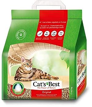 Cat's Best Original Litière agglomérante pour chats 4,3kg