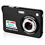 Stoga SC001 2.7 inch TFT LCD HD Display Mini Digital Camera Dfun for Kids Childrens Digital Video Camera Students Cameras Birthday&Christmas Gift (Black)