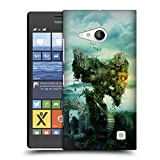 Head Case Designs Offizielle Riza Peker Schloß II Schädel 8 Ruckseite Hülle für Nokia Lumia 730/735