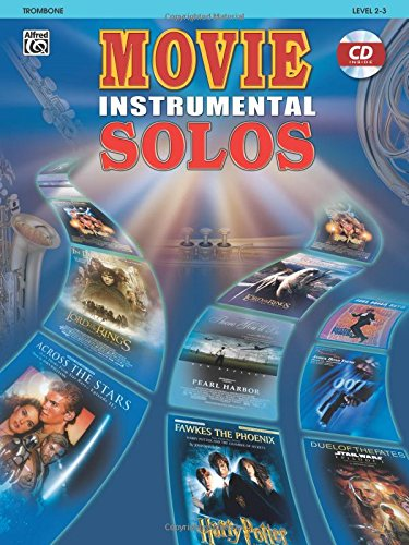 Movie Instrumental Solos - Trombone (Book and CD)