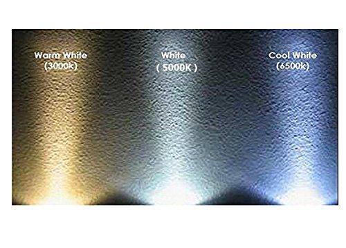 Best to buy®–Juego de 6G4LED 4W 12–24V AC/DC 24x 5630SMD Blanco cálido regulable 120° redondo a + +