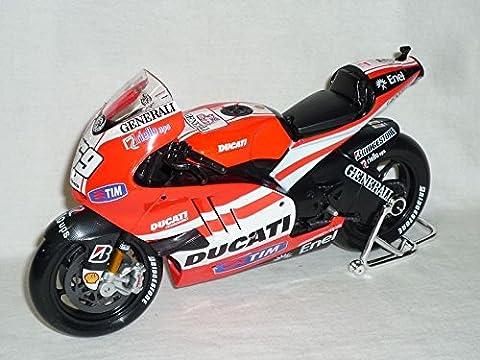 Ducati Desmosedici Nicky Hayden Nr 69 2011 Motogp Moto Gp Gp11 11 1/10 Maisto Motorradmodell Motorrad