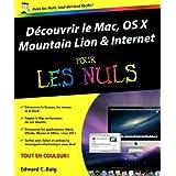 Découvrir le Mac, OS X Mountain Lion et Internet pour les Nuls