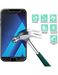 Culater® Tempered Glass Screen Protector Protective Film Cover For Samsung Galaxy A5 2017