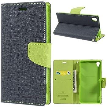 Cedo Stylish Luxury Mercury Magnetic Lock Diary Wallet Style Flip Cover Case for Lenovo Vibe K5 and Lenovo Vibe K5 Plus + (Green)