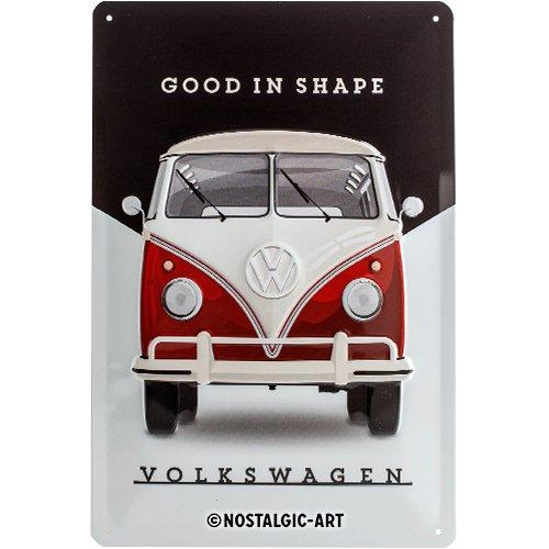 Nostalgic-Art 22260 Volkswagen - VW Bulli - Good In Shape, Blechschild 20x30 cm -