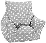 Knorrtoys 68204 Kinder Sitzsack Dots Grey