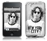 MusicSkins Revêtement pour Apple iPod Touch 2ème/3ème génération John Lennon avec t-shirt New York