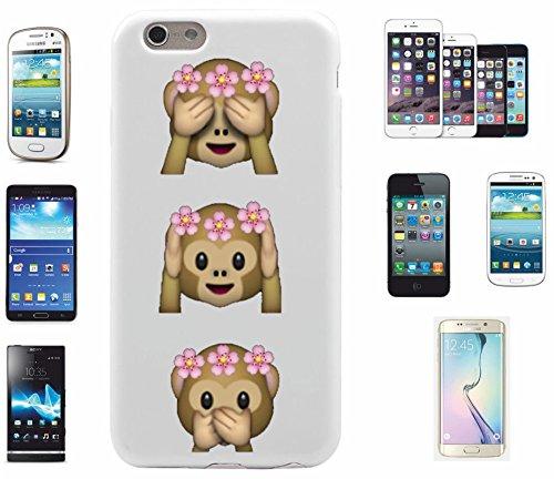 """Preisvergleich Produktbild Smartphone Case Apple IPhone 6/ 6S """"Affen Damen Nichts Böses Sehen Hören Sagen OMG """", der wohl schönste Smartphone Schutz aller Zeiten."""