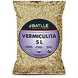 Semillas Batlle 960096PIC Vermikulit Substrat, Brun, 5 l