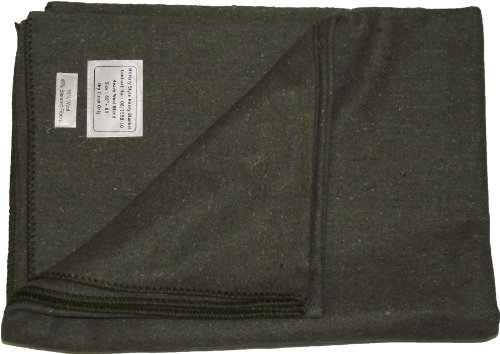 new-military-style-heavy-wool-blanket-olive-green