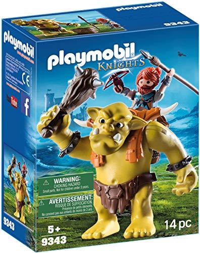 Playmobil- Trol Gigante Mochila Enano Juguete