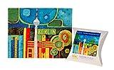 Puzzle Berliner Fernsehturm Tag bunt Karton 110 Teile