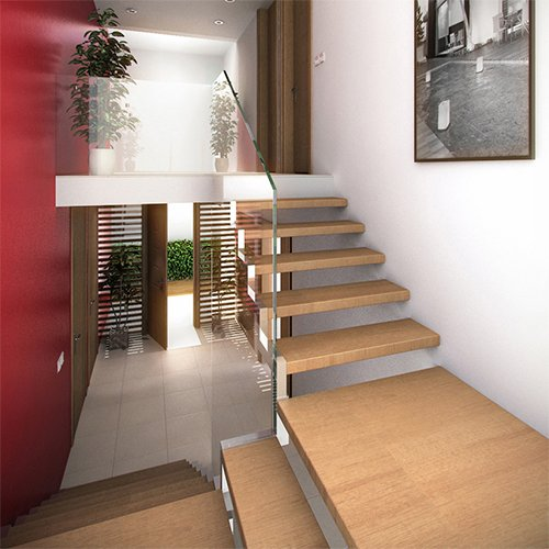 Kara Grip Anti-Slip Stair Strips 60 x 3 cm 5 Pcs.
