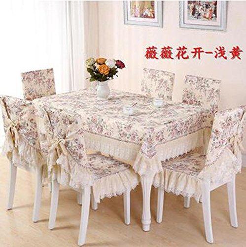 tessuto Europei di alta qualitš€, i rilievi della sedia, cuscino tavolo, set coprisedile,130*180CM