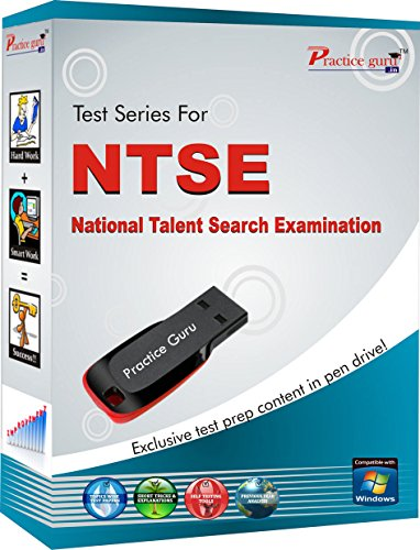 Practice Guru Pen Drive for NTSE Class 10  available at amazon for Rs.999