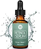Bionura Retinol Serum with 2.5% Retinol, 20% Vitamin C & 10% Hyaluronic Acid - The best Natural Anti Aging and Anti Wrinkle formula for all skin types