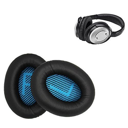 Bose kit de coussinets pour casque de rechange - Compatible avec QuietComfort 2/Quiet Comfort 15/QC 25/Ae2/Ae2i/Ae2w/Sound True/Sound Link.