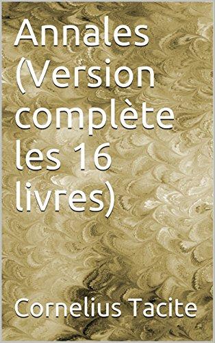 Lire Annales (Version complète les 16 livres) pdf