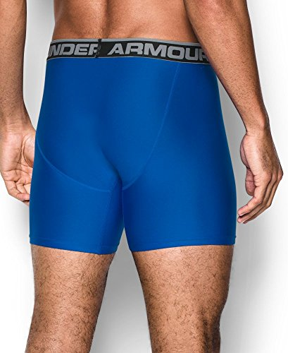 Under Armour Herren O Series 6 zoll BoxerJock 2 PK Blue Marker (1282508-789) / Dark Orange