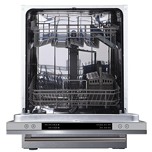 51kINC5uZbL. SS500  - Cookology CBID600 Full Size Fully Integrated, Built-in Dishwasher | 60cm, 14 Place Setting