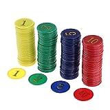 NON Sharplace Juego de Mesa Juego de Tablero de Fichas de Póquer de Casino Juego de Fichas de Dinero Juego de Fichas Mahjong