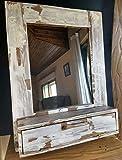 Mueble de baño, tocador vintage de madera reciclada de palet hecho a mano