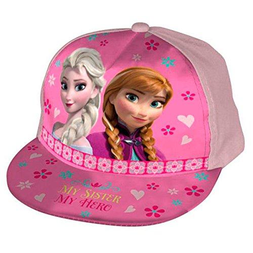 ref272-lic417-casquette-americaine-enfant-visiere-plate-la-reine-des-neiges-licence-officielle-disne