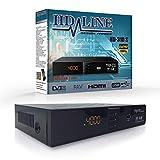 HD LINE 310 Sat Receiver Digitaler - (HDTV, DVB-S/S2, Full HD 1080P) [HDMI, SCART, 2X USB 2.0, VORPROGRAMMIERT für Astra Hotbird Türksat]  Satelliten Receiver