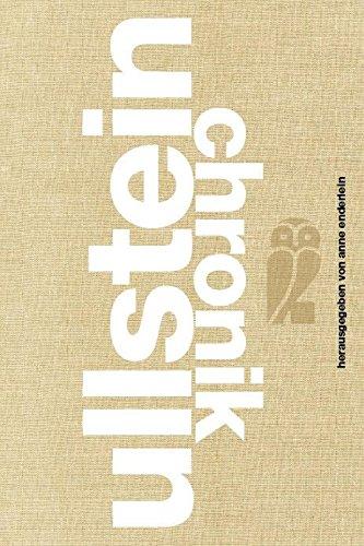 Ullstein Chronik: 1903-2011