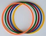 Set di 5 anelli/ cerchi Ø 50 cm, 5 colori