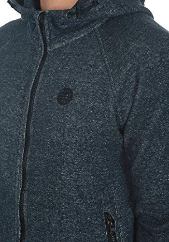 BLEND Jonas - Sweat à capuche zippé- Homme Navy