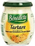 Bénédicta Sauce Tartare 240g Glas