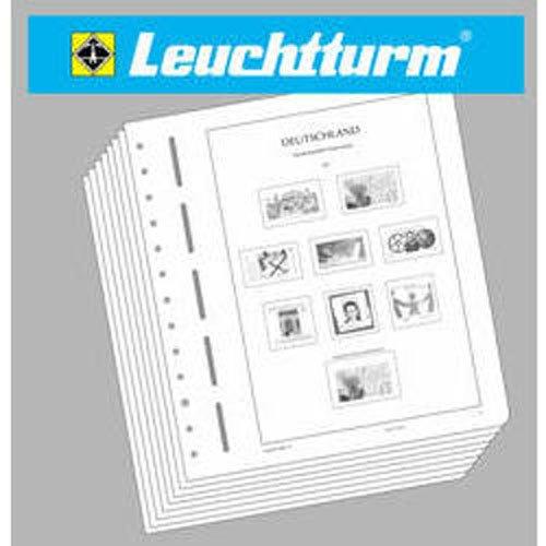 LEUCHTTURM Vordruckblätter Berlin 1980-1984 -