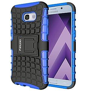 Custodia Galaxy A5 (2017),Pegoo Cover Galaxy A5 (2017) Ultra Slim armatura antiurto Copertura Cassa Custodia Silicone… 6 spesavip