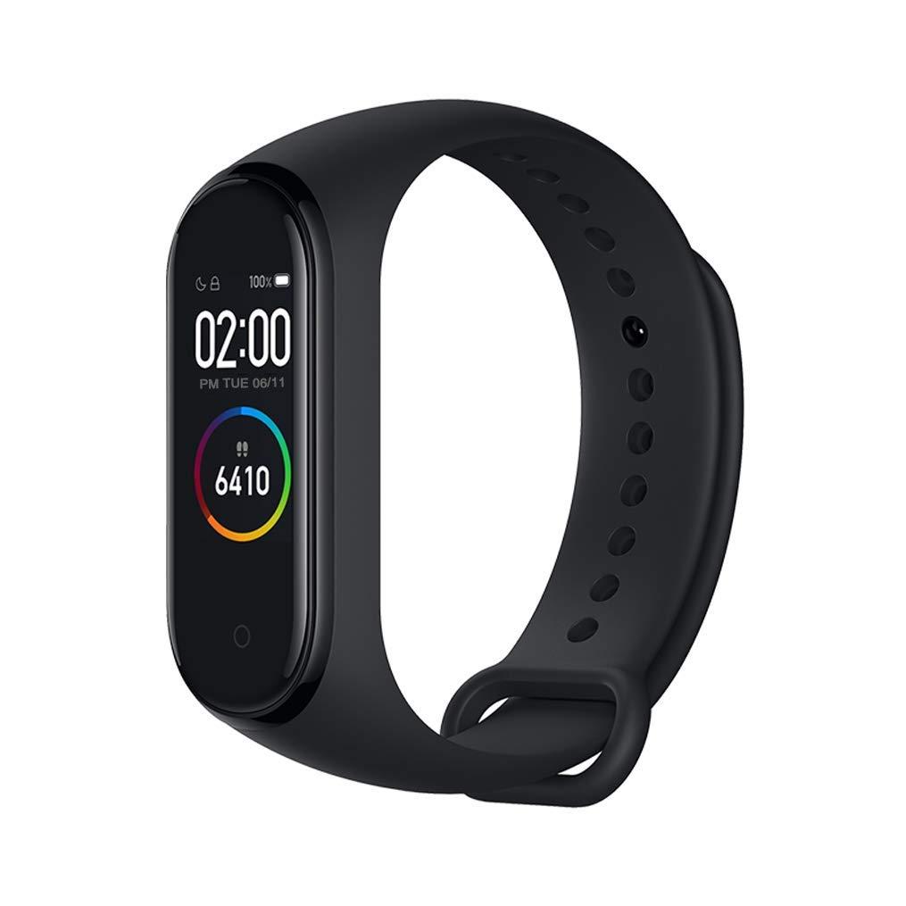 Mi pulsera inteligente Bluetooth 4 con pulsómetro negro 1