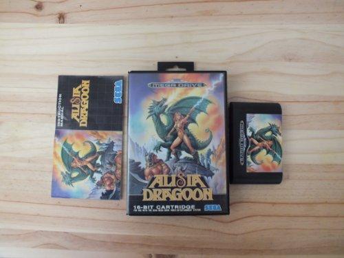 Alisia Dragoon Mega Drive Pal