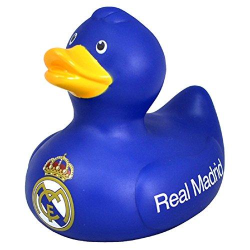 Bade-Ente / Badewannen-Ente / Gummi-Ente mit Real Madrid CF Logo
