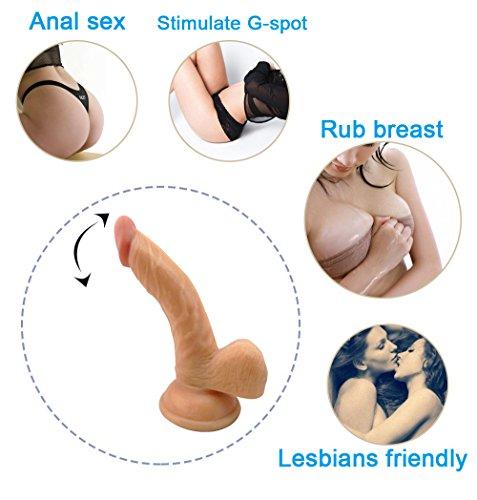 9,06 Zoll Dildo für Frauen, lebendig geformt mit Veining, Eichel Penis Sex Toy - 2
