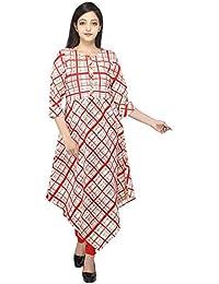 SCMeera Women's Cotton Front Button Kurti